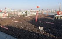 Biển người đổ về Bình Nhưỡng mừng thử bom hydro thành công