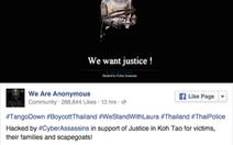 300 website chính phủ Thái bị tin tặc tấn công