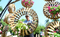 Đường hoa Nguyễn Huệ: Không chỉ hoa mà còn củ quả