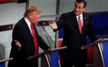 Donald Trum, Ted Cruz so găng trên sóng truyền hình