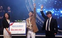 """Hoài Lâm """"vô cùng hạnh phúc"""" đoạt giải Bài hát yêu thích"""