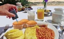 Máy quét thực phẩm thông báo giá trị dinh dưỡng