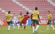 Thua Úc 0-2, U-23 VN cạn hi vọng đi tiếp