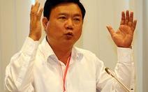 """Bộ trưởng Đinh La Thăng: """"Nếu biển báo còn thì người phải đi"""""""