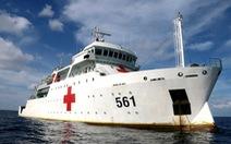 Tàu bệnh viện HQ-561 ở Trường Sa