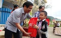 Cây mùa xuân đến với học sinh nghèo Quảng Nam