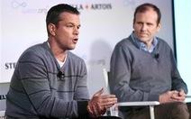 Matt Damon kêu gọi quan tâm đến vấn nạn thiếu nước sạch