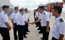 Tàu hộ vệ tên lửa Đinh Tiên Hoàng thăm hữu nghị Hải quân Singapore