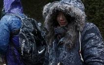 Hong Kong, Nhật Bản,Hàn Quốc lạnh cóng, 86.000 người mắc kẹt