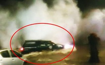 Video sóng lớn đánh lật ô tô ở Chile