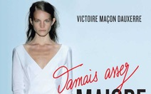 """Cựu siêu mẫu Pháp lên án """"chuẩn gầy"""" của ngành thời trang"""