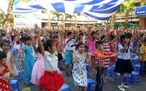 Bữa tiệc âm nhạc của học sinh tiểu học