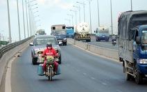 Đồng Nai đề nghị cho xe máy chạy trên cầu vượt QL 1A