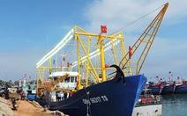 Hạ thủy tàu cá vỏ thép đầu tiên cho ngư dân Lý Sơn
