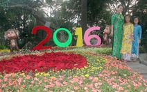 Khai mạc Hội Hoa Xuân Bính Thân năm 2016