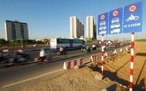Đã điều chỉnh xong biển tốc độ dưới 50km/giờ trên quốc lộ, tỉnh lộ