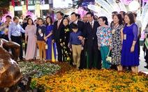 Khai mạc đường hoa Nguyễn Huệ: niềm tự hào, khát vọng của dân