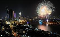 Bắn pháo hoa mừng lễ 30-4, cấm xe máy qua hầm sông Sài Gòn