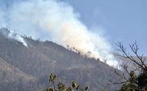 200 người đang dập lửa ở Vườn quốc gia Hoàng Liên