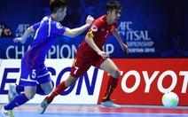"""Futsal VN thắng Đài Loan """"nghẹt thở"""" ở VCK châu Á 2016"""