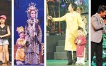 Khi hậu duệ nghệ sĩ theo ba mẹ lên sân khấu