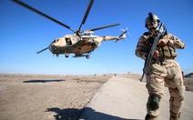 Rơi trực thăng quân sự Iraq, 9 người chết