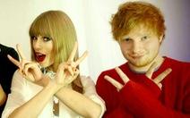 """Taylor Swift, Ed Sheeran: """"đôi bạn cùng tiến"""" của Grammy 2016"""