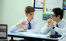 Môi trường học tập quốc tế học sinh Việt Nam được hỗ trợ gì?