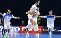 Điểm tin tối 18-2: Thua Kyrgyzstan 2-6, Nhật Bản mất suất dự World Cup futsal
