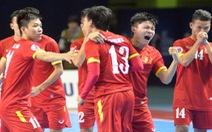 Hạ Nhật Bản, tuyển futsal VN giành vé dự World Cup