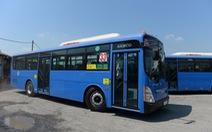 Đưa vào hoạt động 2 tuyến xe buýt thân thiện môi trường