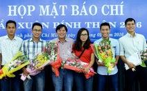 Thành ủy khen thưởng phóng viên báo chí TP.HCM đạt giải Quốc gia