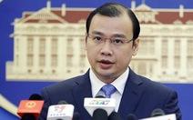 Phản đối 8 nghị sĩ Đài Loan thăm trái phép đảo Ba Bình