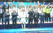 Điểm tin sáng 22-2: Iran lần thứ 11 vô địch futsal châu Á