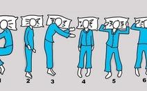 Thử tìm kiếm những tư thế ngủ có lợi cho sức khỏe