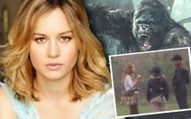 Ảnh nóng:Brie Larson trên phim trường Kong Skull island ở Quảng Bình