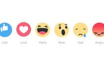 Facebookđổi nút Like, thêm Buồn vàGiận dữ