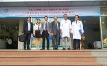 Đại diện tập đoàn JGC Nhật Bản tham quan bệnh viện Đa khoa Tâm Trí Đà Nẵng