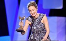 """Brie Larson cám ơn """"bạn trai tuyệt vời"""" khi nhận giải"""