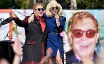 Xem clip Lady Gaga hát cùng Elton John trước đêm Oscar