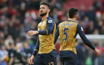 Cóng chân, Arsenal sa vào tuyệt lộ