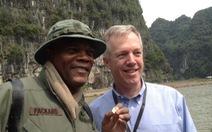 Samuel L. Jackson đăng clip phim trường Kong Skull Island ở Ninh Bình