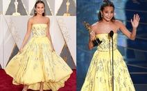 """Chiếc váy """"Người đẹp và quái vật"""" củaAlicia Vikander tại Oscar"""