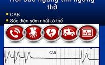 Bé gái 9 tuổi ba lần ngưng tim