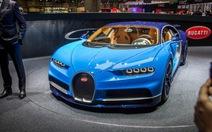 Geneva 2016:Bugatti Chiron xe thương mại có giá triệu USD