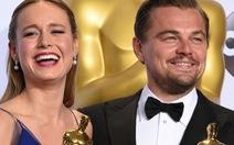 Hậu Oscar, Leonardo Dicaprio vào vai giết người, Brie Larson quay lại VN