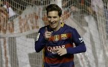 Messi lập hat-trick, Barca đè bẹp 9 người Vallecano
