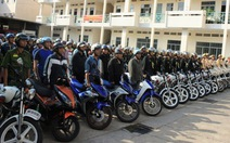 TP.HCM tăng cảnh sát cơ động tham gia trấn áp tội phạm