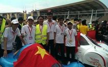 ĐH Lạc Hồng vô địch đuaxe tiết kiệm nhiên liệu châu Á