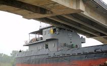 Lập tổ công tác xử lý tàu 3.000 tấn kẹt cầu An Thái